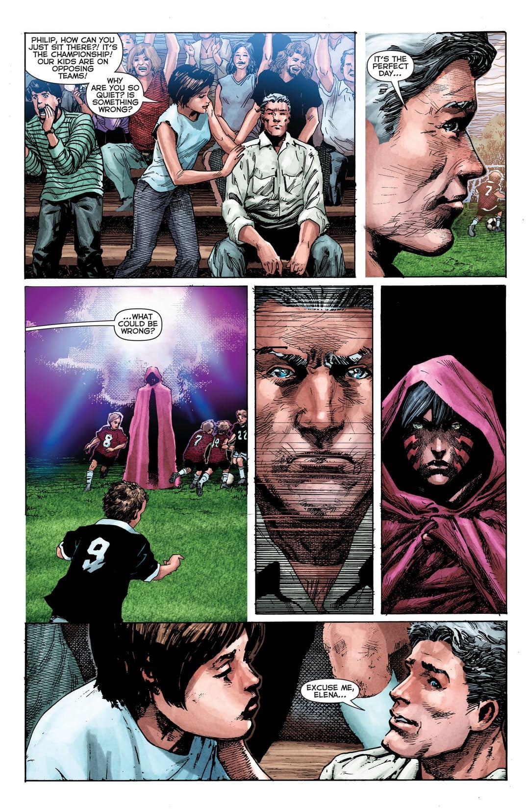 The Phantom Stranger (2012-2014) #2