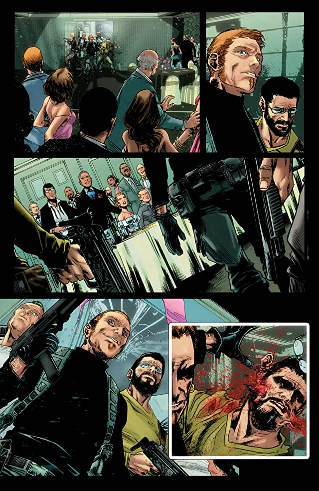 click for super-sized previews of Punisher (2011-2012) #1