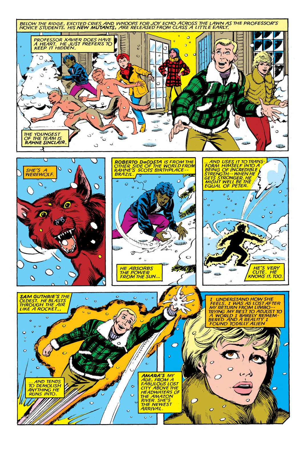 New Mutants (1983-1991) #14