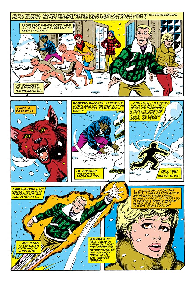 click for super-sized previews of New Mutants (1983-1991) #14