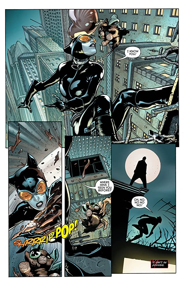 click for super-sized previews of Catwoman (2011-) #13