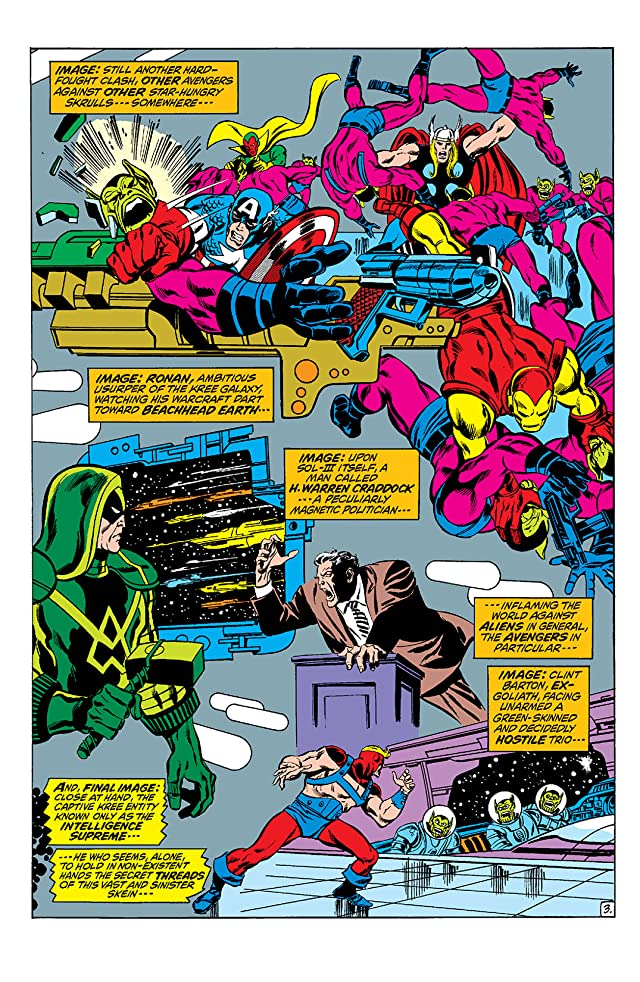 click for super-sized previews of Avengers (1963-1996) #97