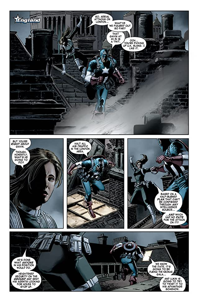 click for super-sized previews of Captain America (2004-2011) #20