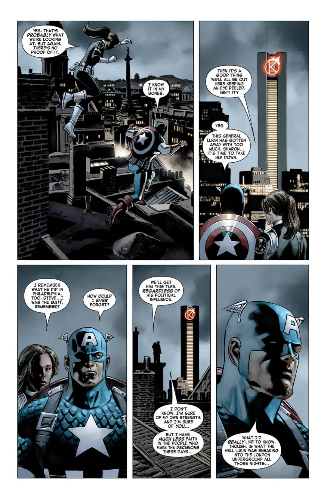 Captain America (2004-2011) #20