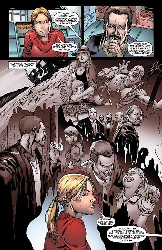 click for super-sized previews of Jennifer Blood: First Blood #2