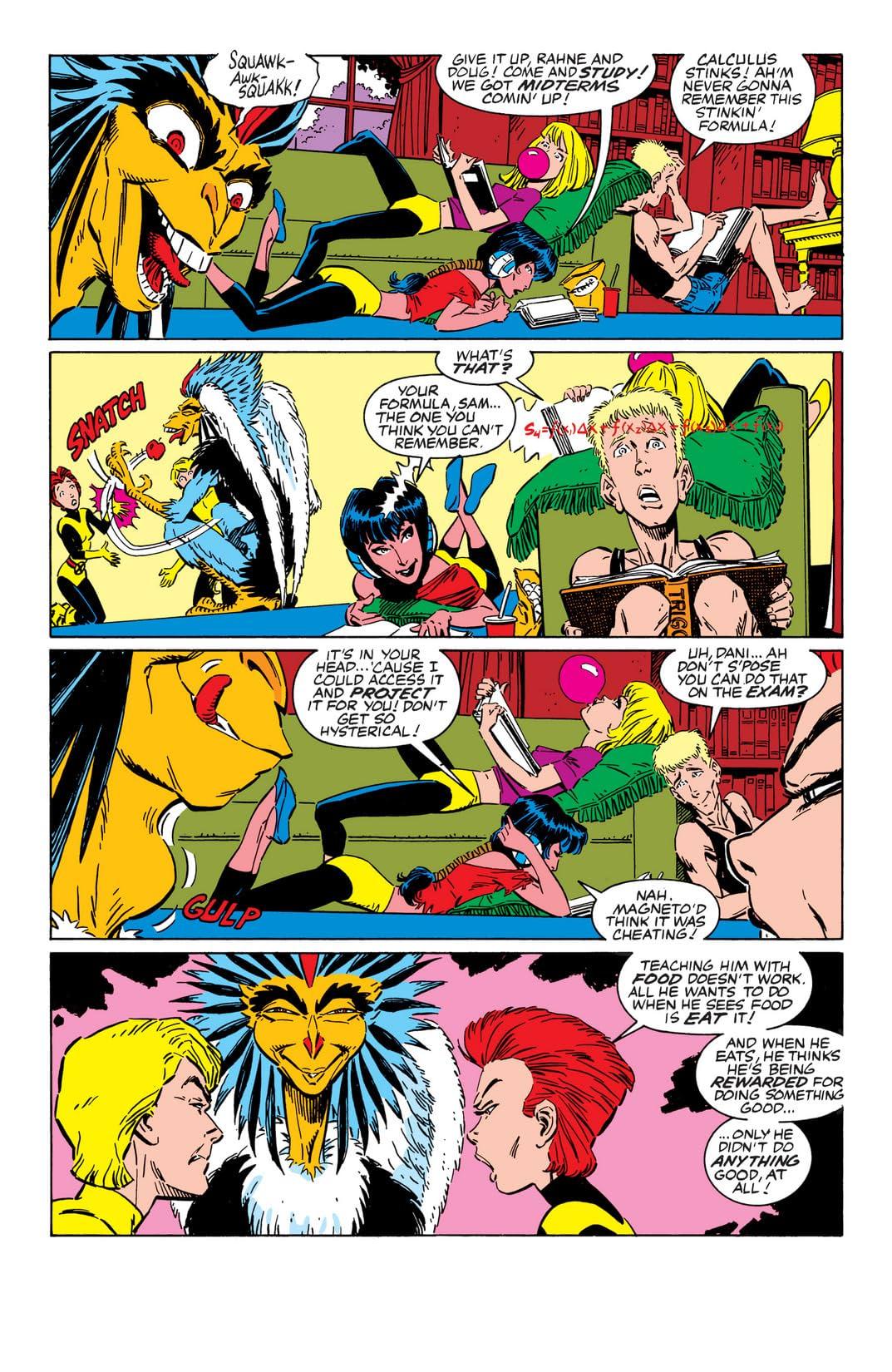 New Mutants (1983-1991) #58