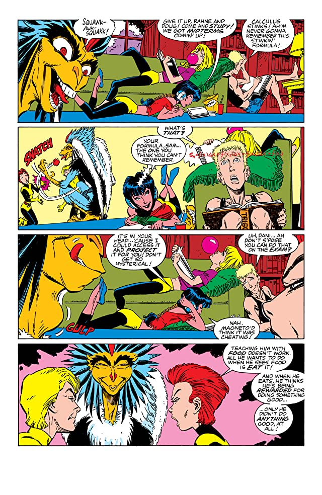 click for super-sized previews of New Mutants (1983-1991) #58