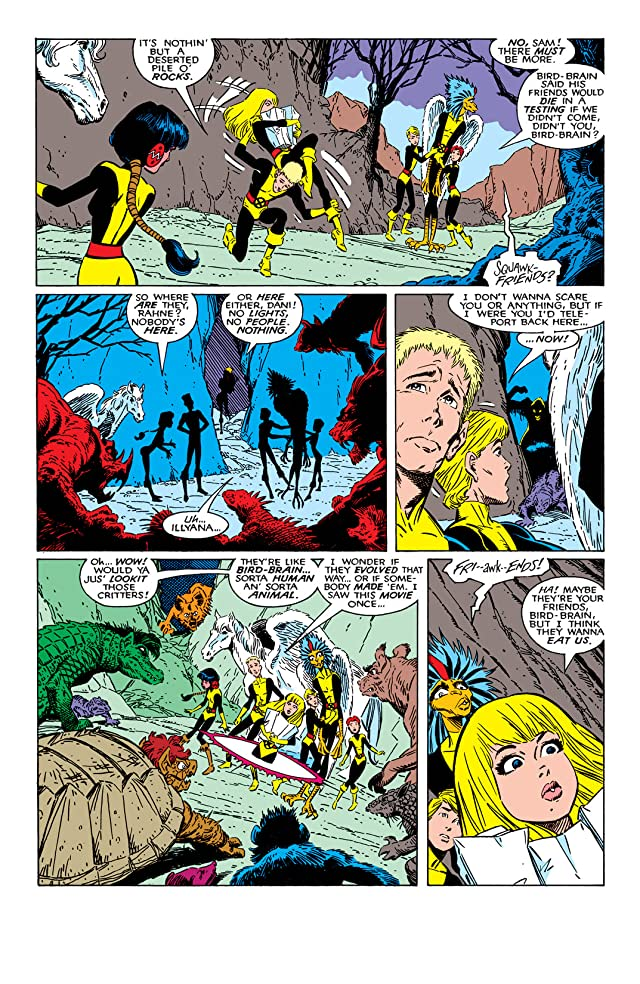 click for super-sized previews of New Mutants (1983-1991) #59