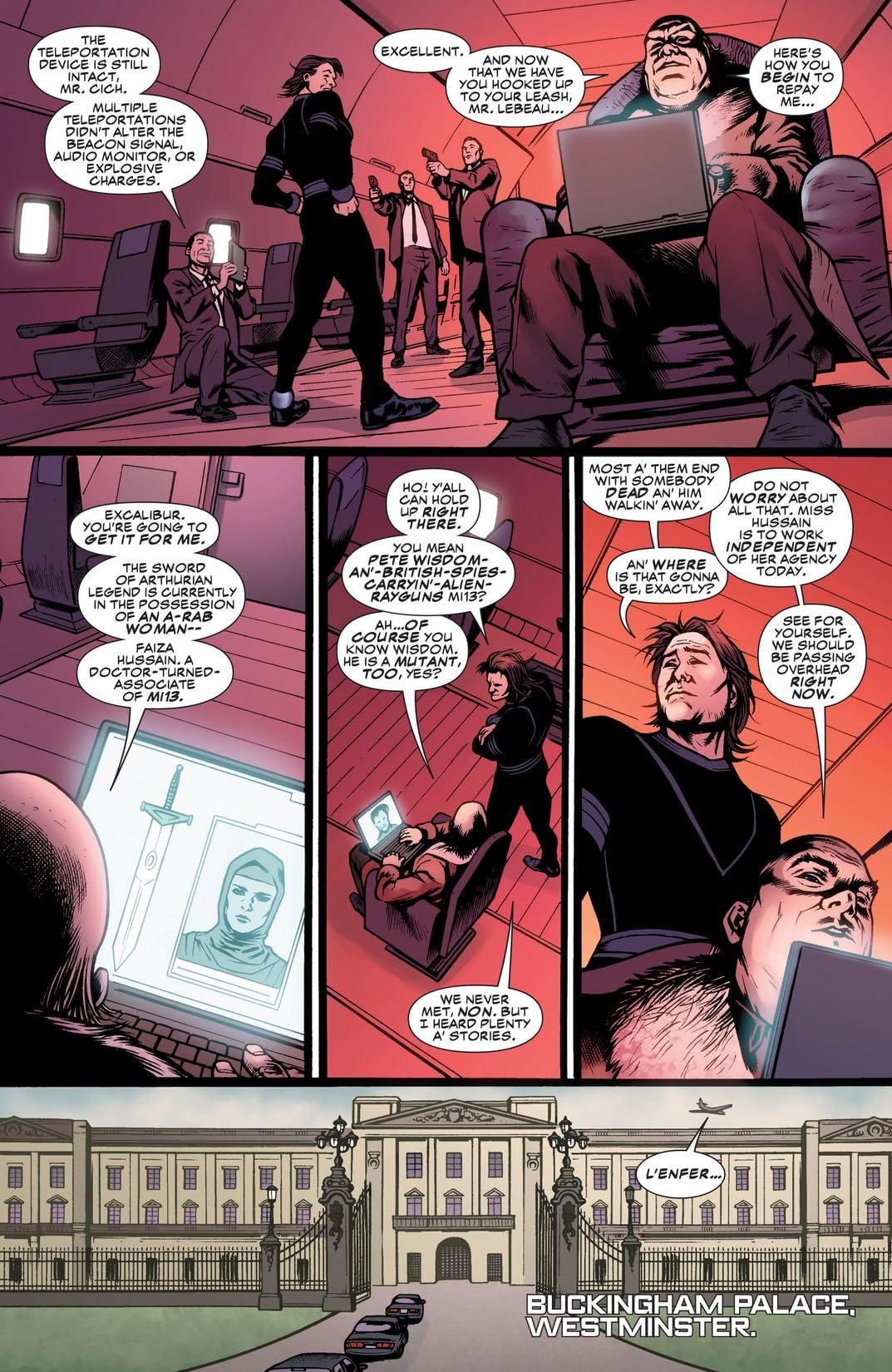 Gambit (2012-2013) #6