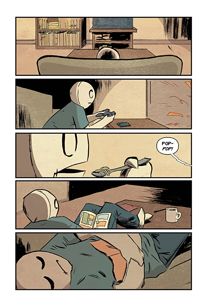 click for super-sized previews of The Li'l Depressed Boy Vol. 2: Movin' Right Along