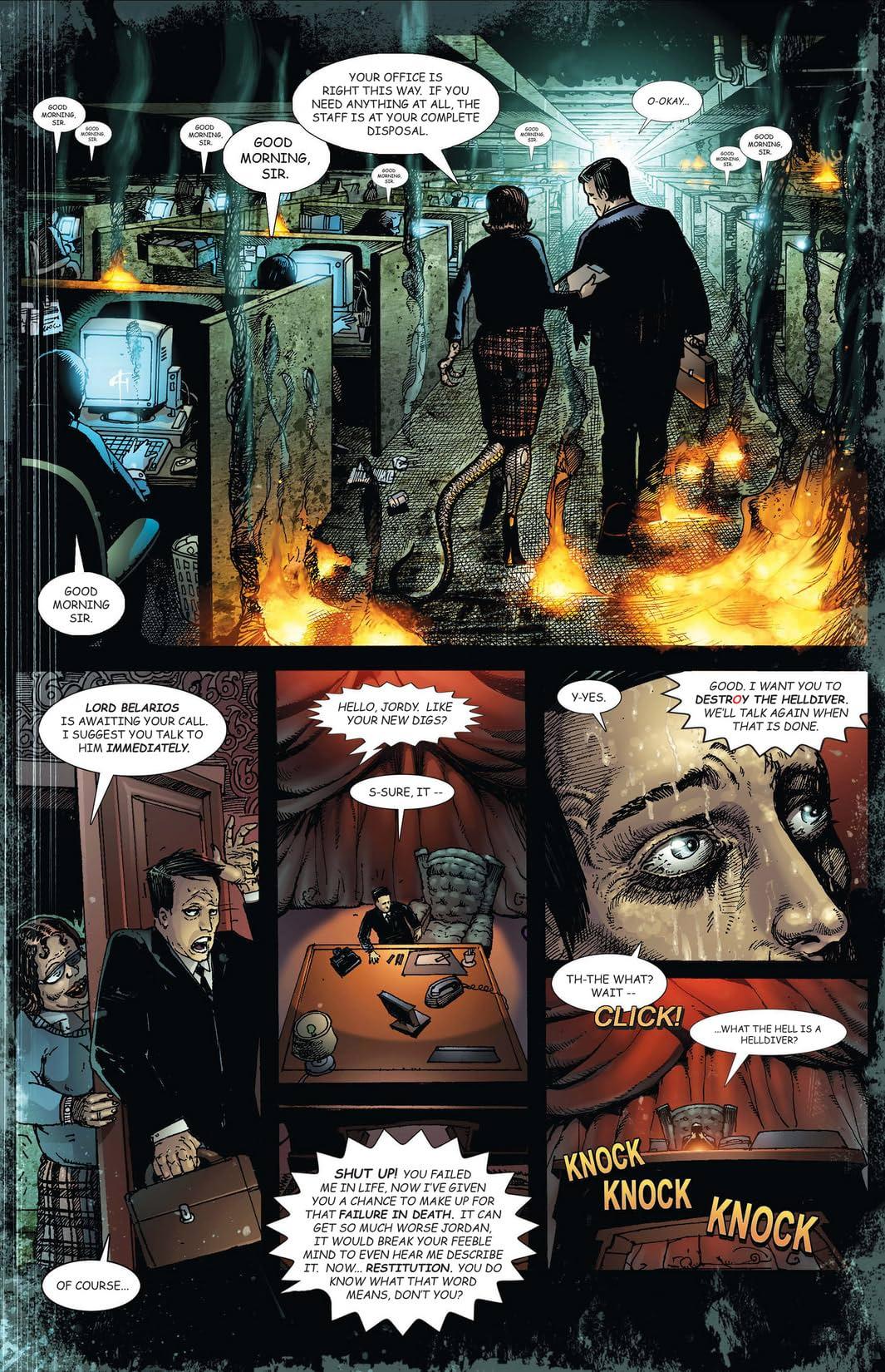 Four Horsemen of the Apocalypse #5 (of 9): Famine