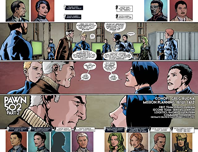click for super-sized previews of Checkmate (2006-2008) #9