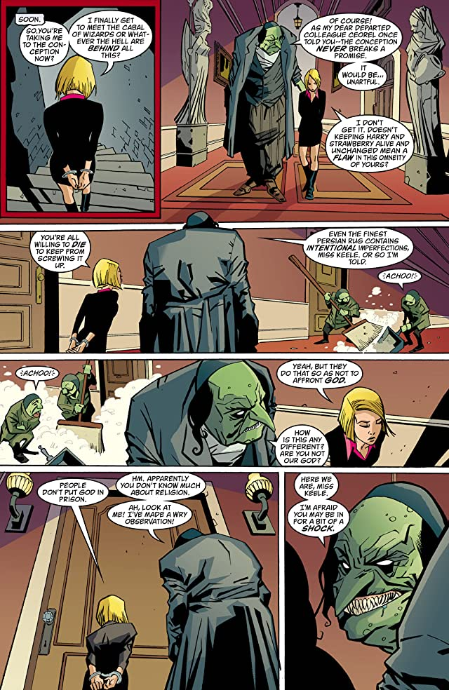 click for super-sized previews of House of Mystery (2008-2011) #38