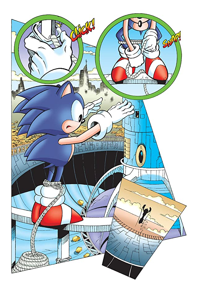 click for super-sized previews of Sonic the Hedgehog Archives Vol. 11