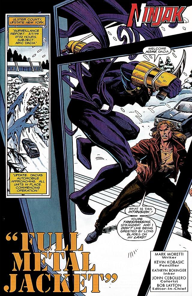 Ninjak (1994-1995) #5