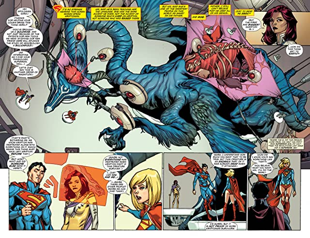 click for super-sized previews of Supergirl (2011-2015) #14