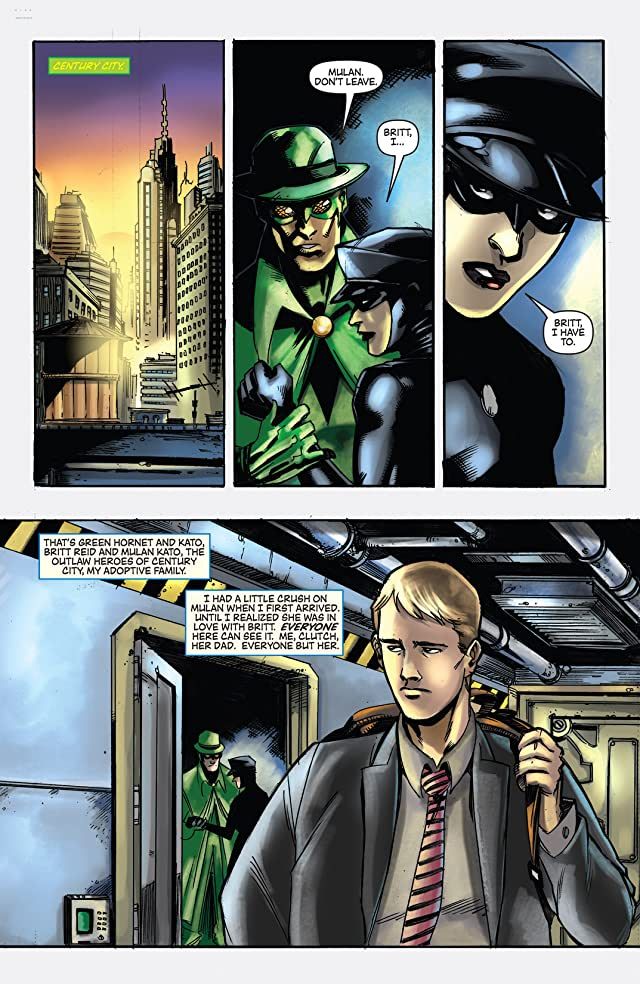 click for super-sized previews of Green Hornet #31
