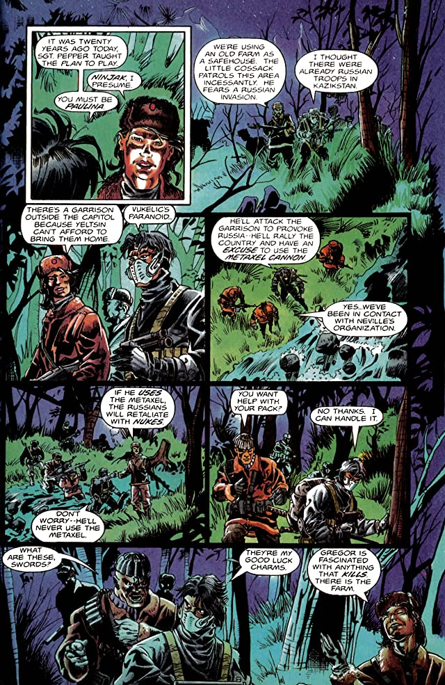 click for super-sized previews of Ninjak (1994-1995) #10