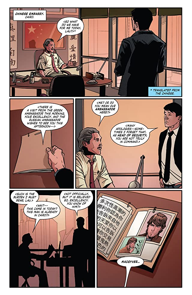click for super-sized previews of MacGyver: Fugitive Gauntlet #2
