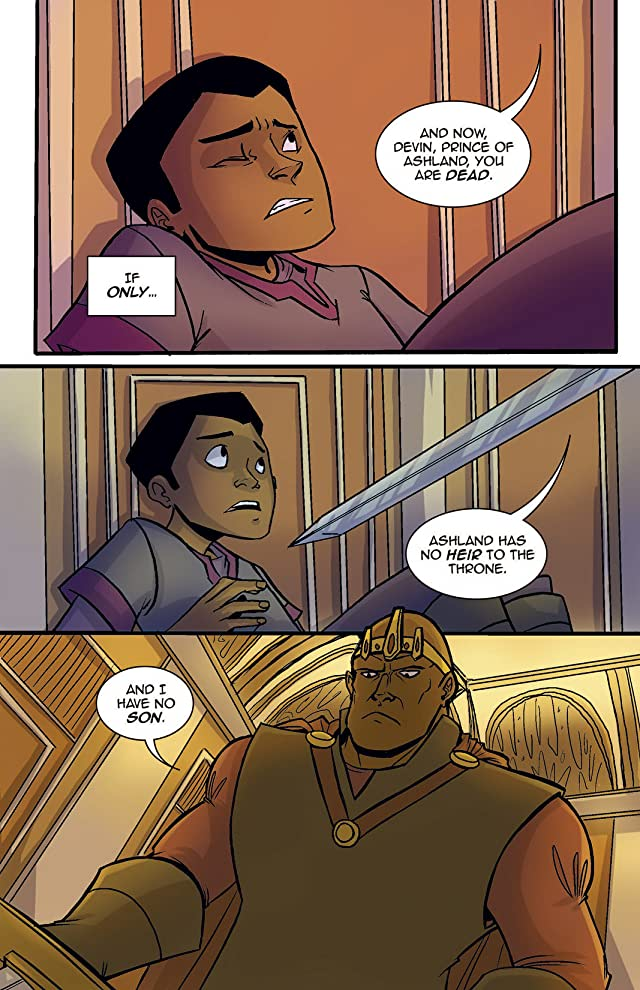 click for super-sized previews of Princeless #2