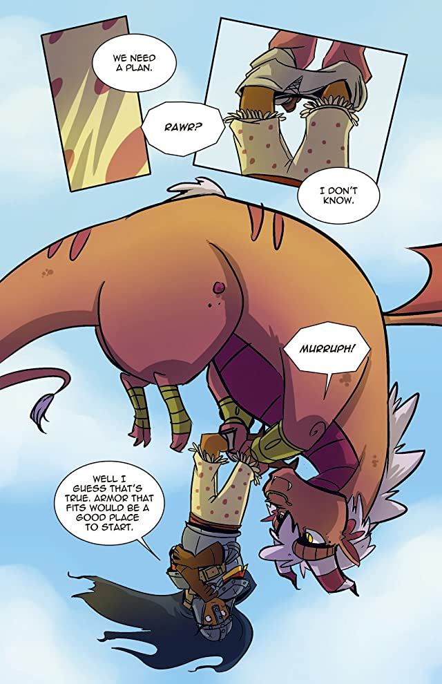 click for super-sized previews of Princeless #3