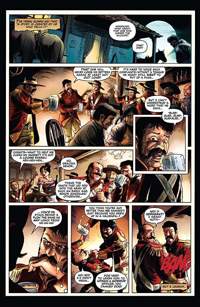 click for super-sized previews of Zorro #1