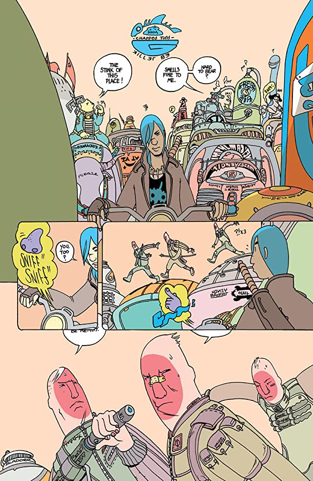 click for super-sized previews of Multiple Warheads: Alphabet To Infinity #2