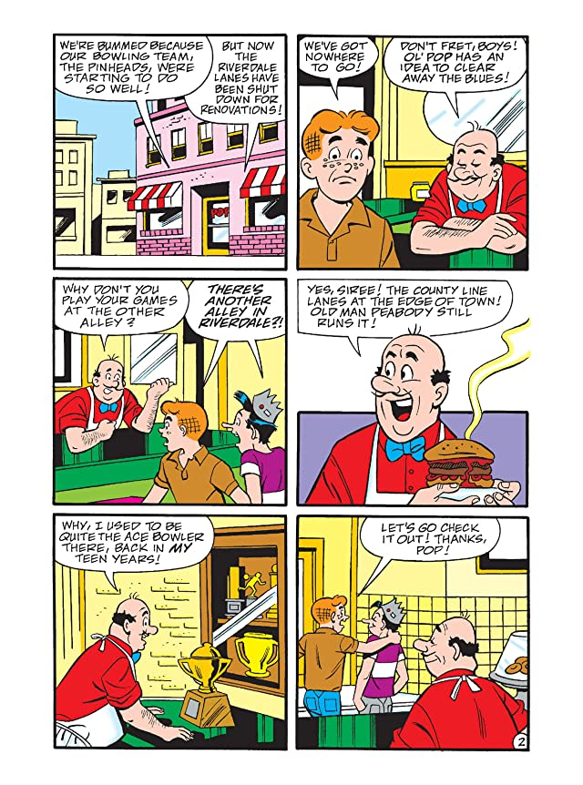 click for super-sized previews of Archie's Pals 'n' Gals Double Digest #122