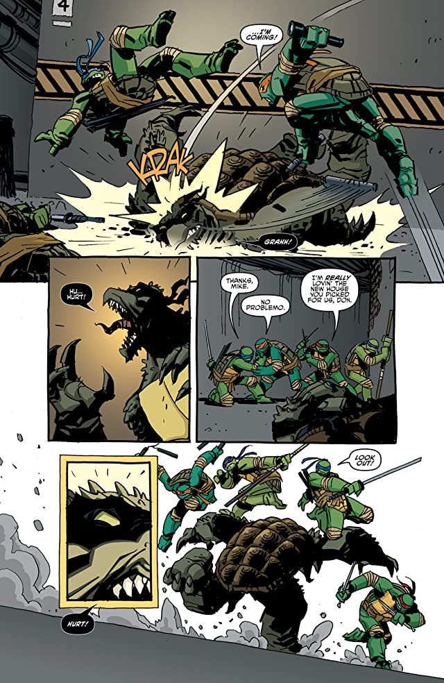 Teenage Mutant Ninja Turtles #16