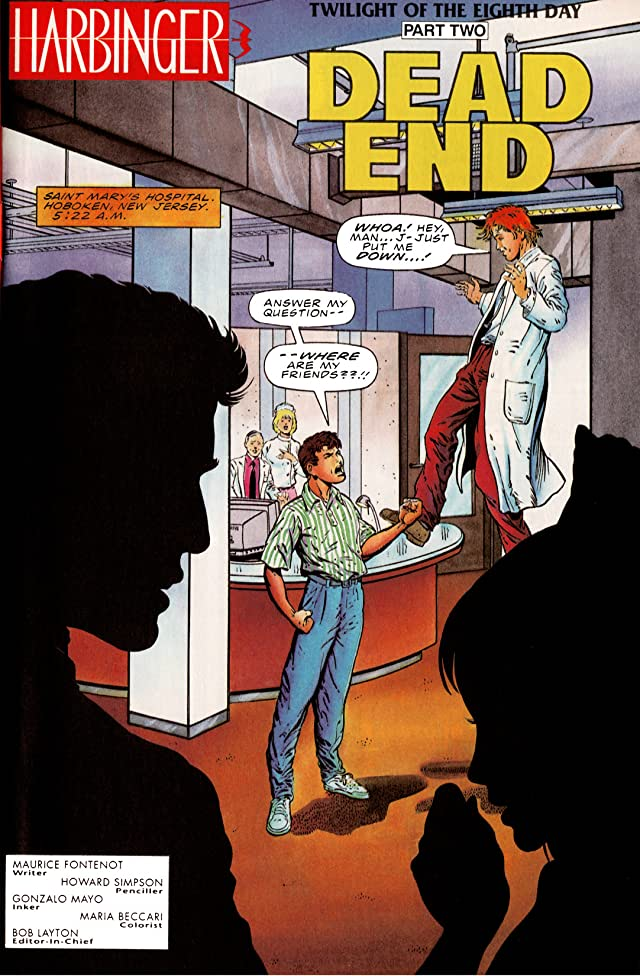 click for super-sized previews of Harbinger (1992-1995) #24