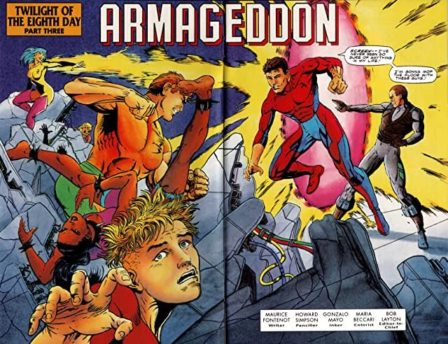 click for super-sized previews of Harbinger (1992-1995) #25