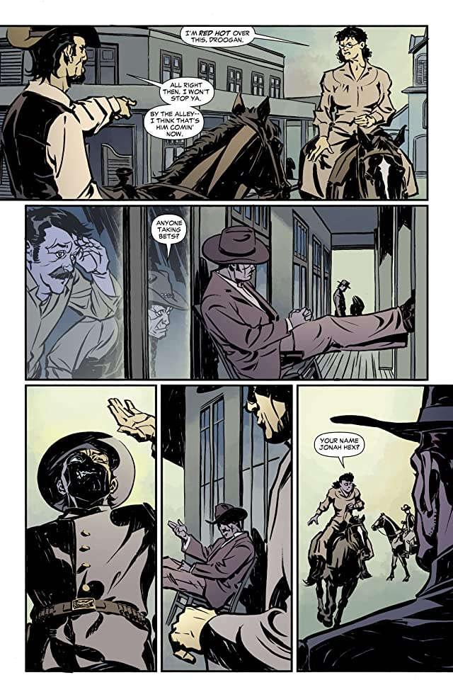 click for super-sized previews of Jonah Hex (2006-2011) #60