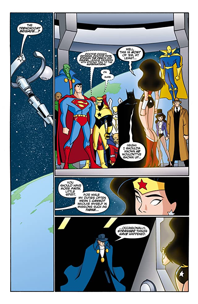 click for super-sized previews of Justice League Unlimited #14