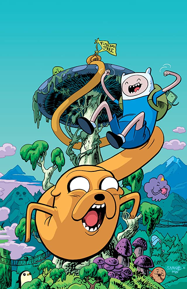 click for super-sized previews of Adventure Time Cover Showcase