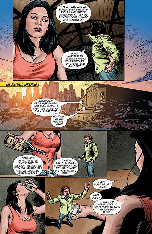 click for super-sized previews of Phantom Lady (2012) #4