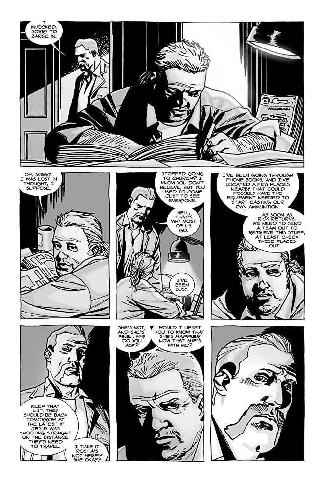 click for super-sized previews of The Walking Dead Vol. 17: Something To Fear