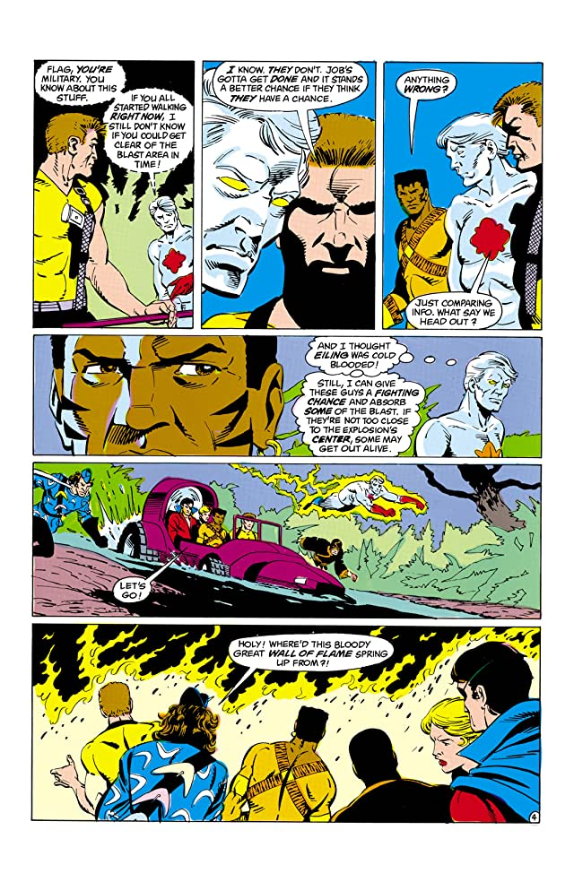 click for super-sized previews of Suicide Squad (1987-1992) #9