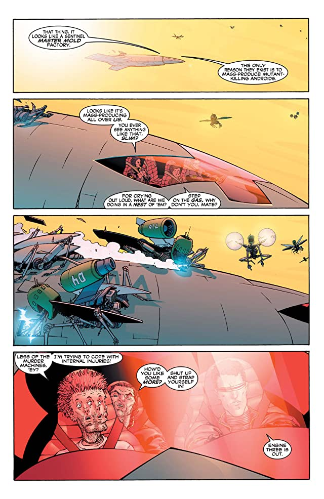 click for super-sized previews of New X-Men (2001-2004) #115