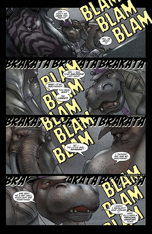 click for super-sized previews of Elephantmen Vol. 2: Fatal Diseases