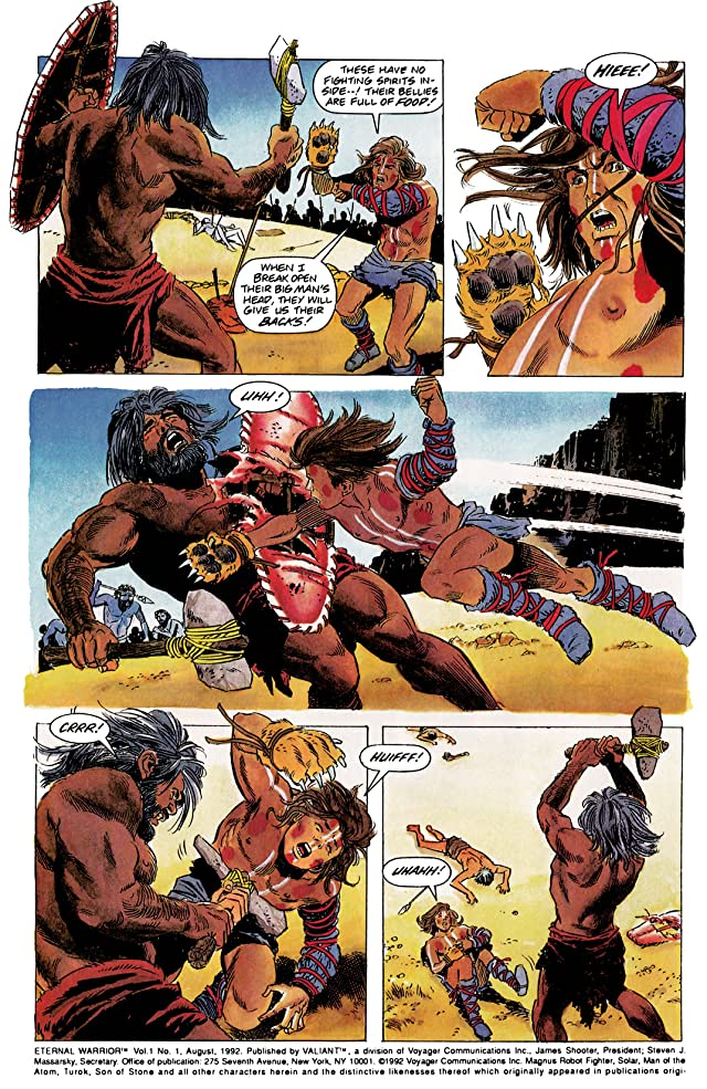 click for super-sized previews of Eternal Warrior (1992-1996) #1