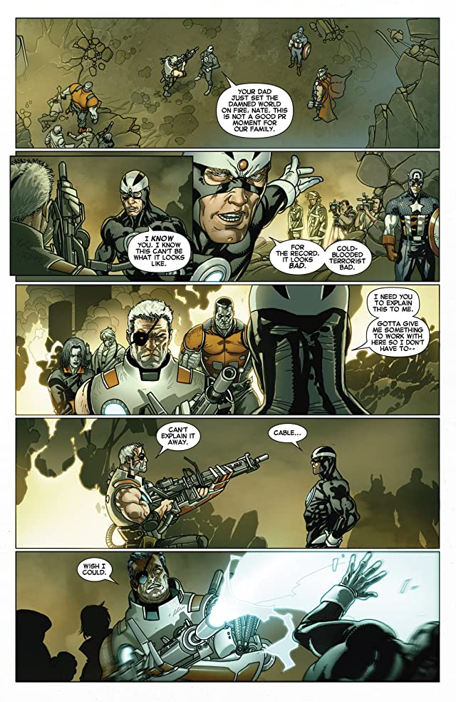 click for super-sized previews of Cable and X-Force #1