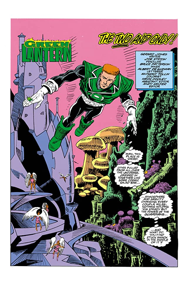 click for super-sized previews of Green Lantern (1990-2004) #9