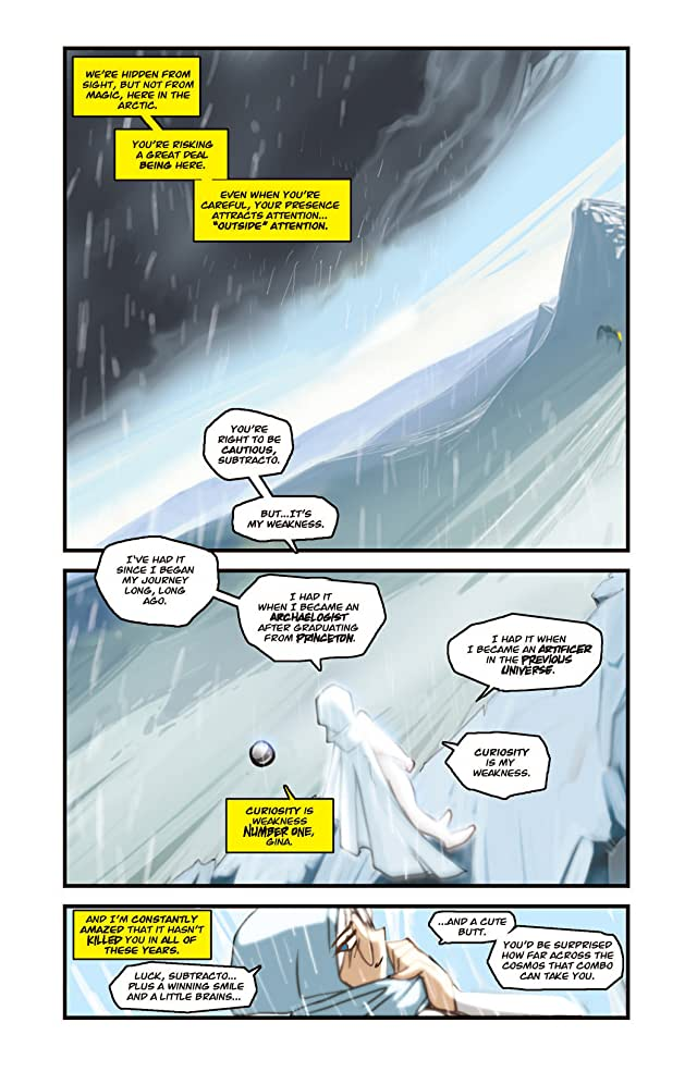 click for super-sized previews of Gold Digger #91