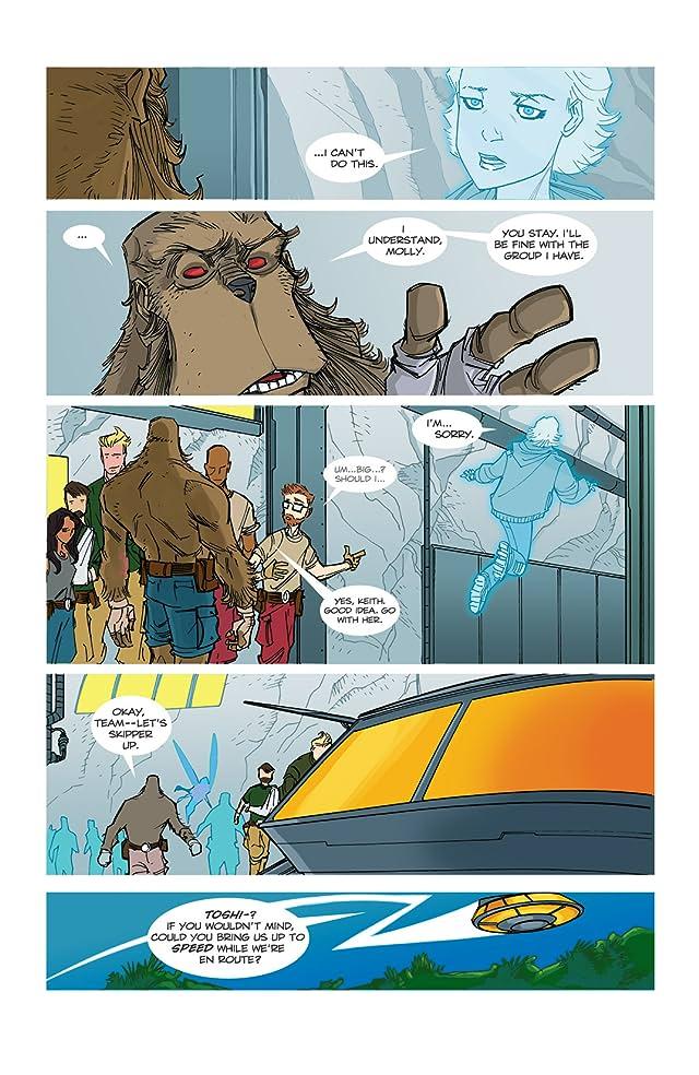 Perhapanauts: Danger Down Under #2 (of 5)