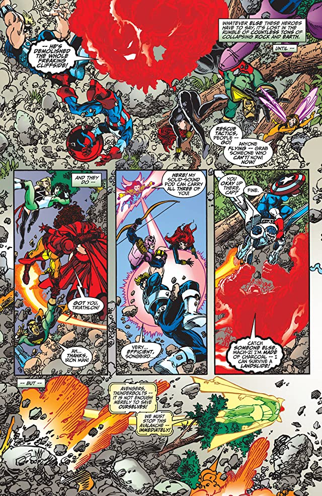 click for super-sized previews of Avengers (1998-2004) #34