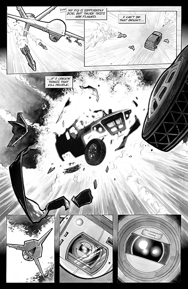 click for super-sized previews of Think Tank Vol. 1
