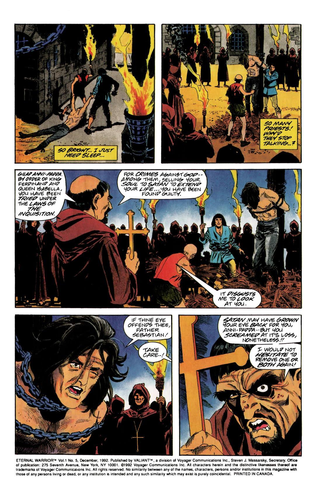 Eternal Warrior (1992-1996) #5