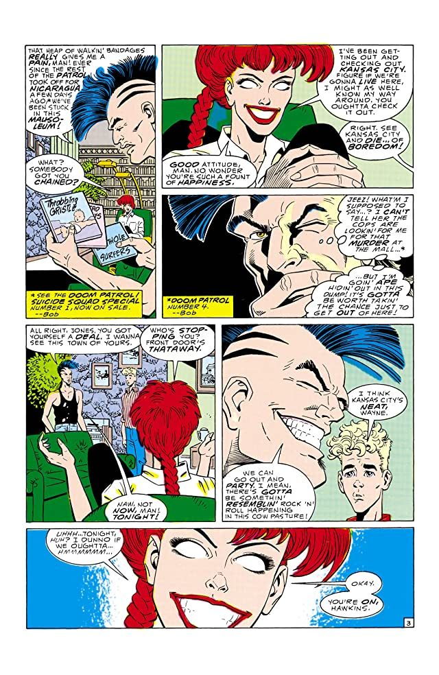 click for super-sized previews of Doom Patrol (1987-1995) #7