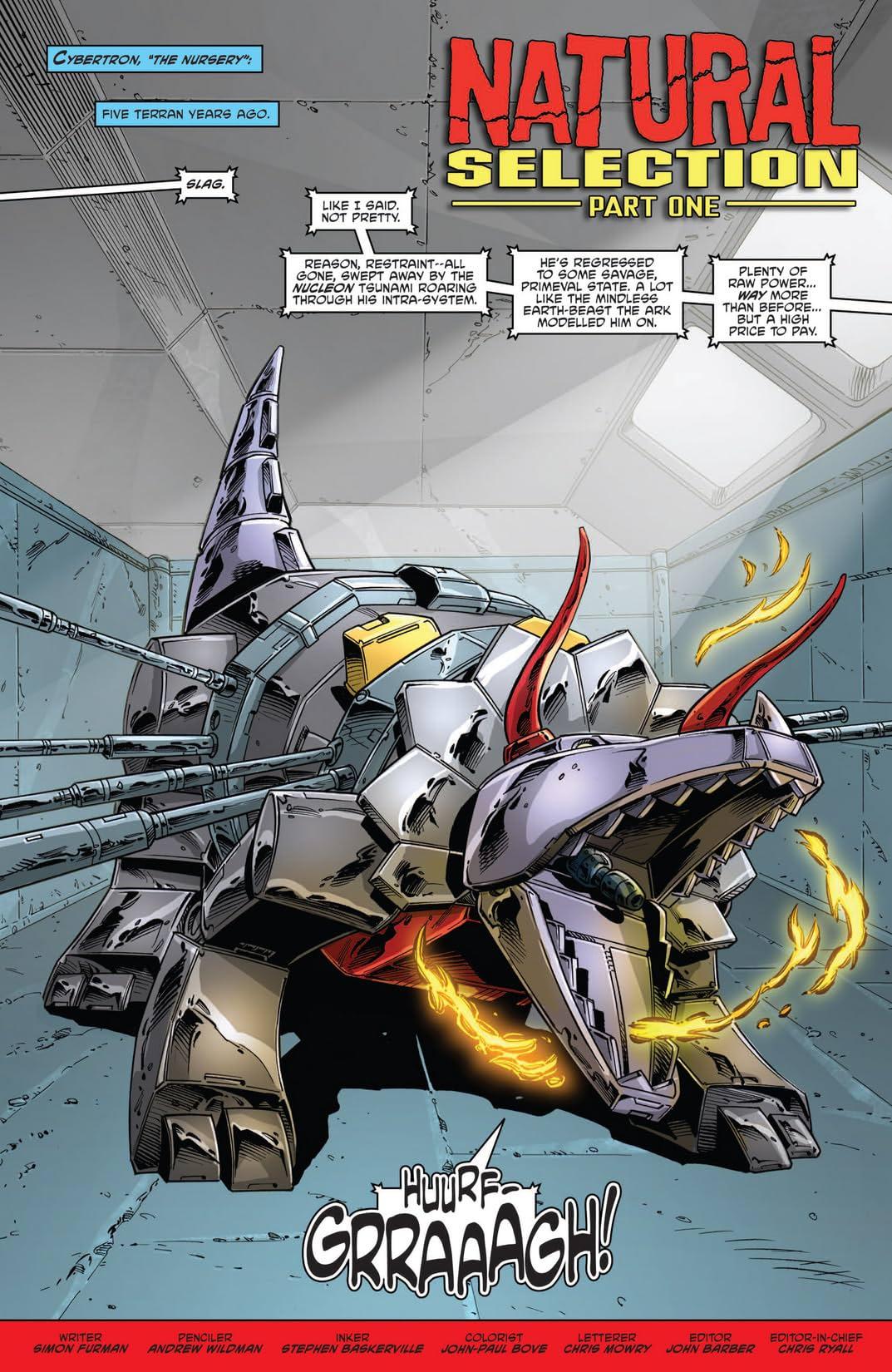 Transformers: Regeneration One #86