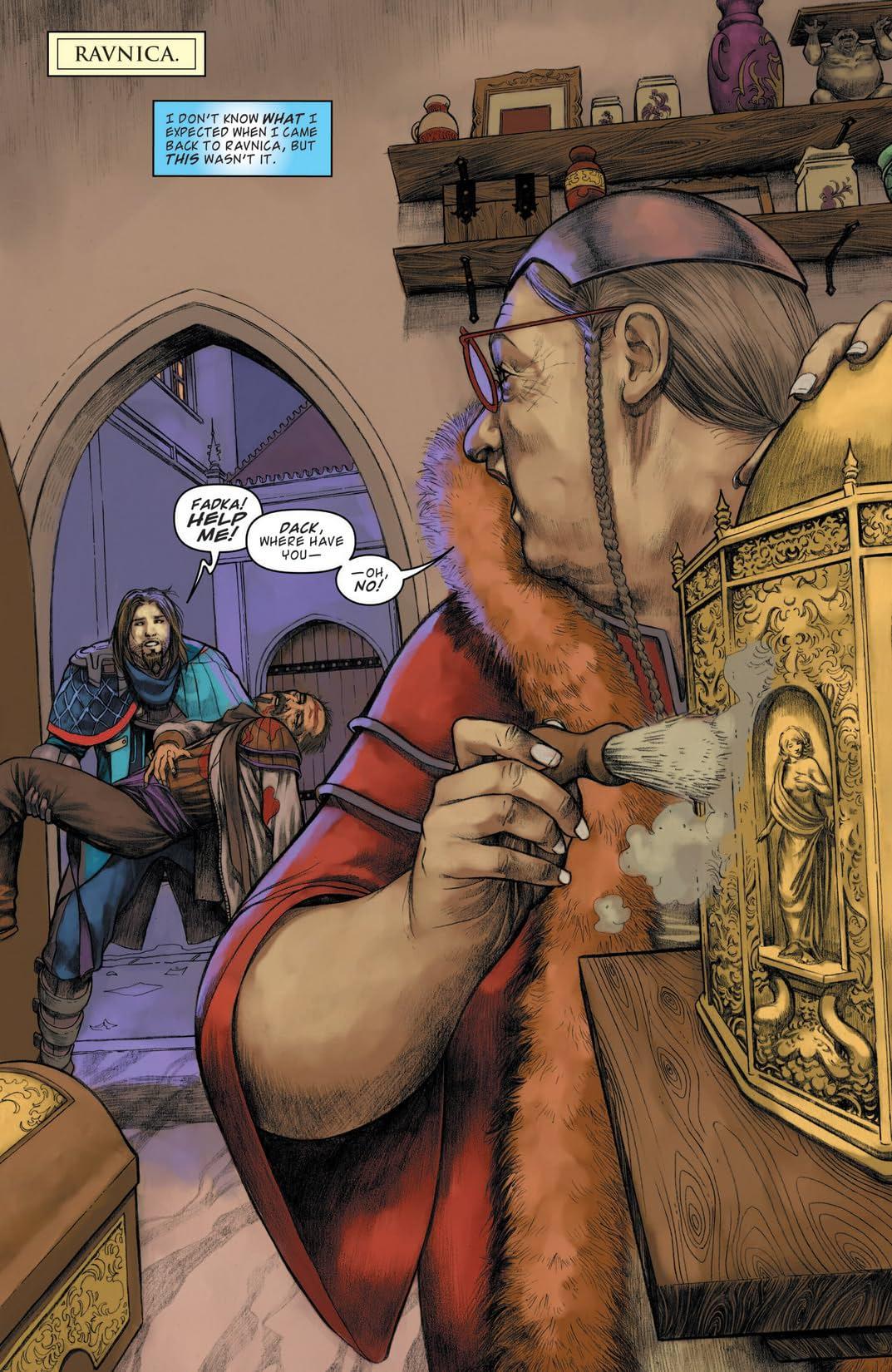 Magic the Gathering: Path of Vengeance #1